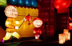 Lantern Show Royalty Free Stock Photography