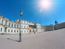 Lantern on the square in front of the palace. Gatchina. St. Petersburg. Russia Royalty Free Stock Image