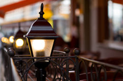 Lantern on the street Royalty Free Stock Photography