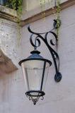 Lantern Street. Forged conical night lantern street Stock Images