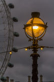 Lantern on the street in London Royalty Free Stock Images