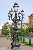 Lantern on the street,  St.Petersburg, Russia Royalty Free Stock Photo