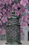 Lantern. A lantern on a table Royalty Free Stock Photo