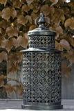 Lantern. A lantern on a table Royalty Free Stock Photos