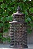Lantern. A lantern on a table Stock Image