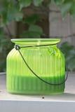 Lantern. A lantern on a table Royalty Free Stock Image