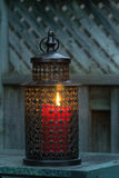 Lantern. A lantern on a table Stock Images