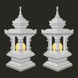 Lantern with thai style , Stock Photography