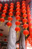Lantern in Thean Hou Temple Stock Photo