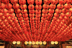 Lantern at Tianhou Temple Royalty Free Stock Image