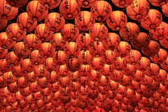 Lantern at Tianhou Temple Royalty Free Stock Photos