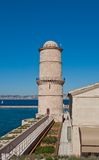 Lantern Tower (1644). Fort Saint-Jean, Marseilles Royalty Free Stock Photography