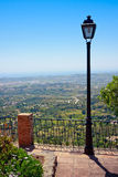 Lantern at Viewpoint stock photography
