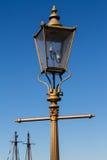Lantern. Vintage lantern on Victoria's street, British Columbia Stock Photo