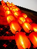lantern on the wall  Stock Photos