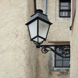 Lantern on wall. Close up Stock Images