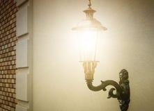 Lantern on the wall Royalty Free Stock Photo