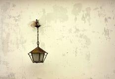Lantern on the wall Stock Image