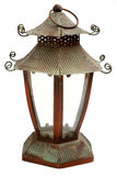 Lantern on white. Orient lantern on white background Royalty Free Stock Photo