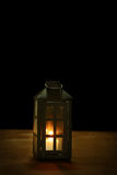 Lantern on wood Royalty Free Stock Images