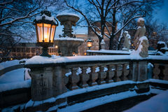 Lantern at the Zwinger, Dresden, Germany Stock Photo