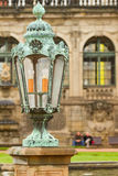 Lantern in Zwinger Palace .  Dresden, Germany Stock Photography