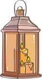 Lanterna illustrazione vettoriale