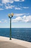 Lanterna & mar Imagens de Stock