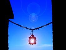 Lanterna antica Fotografia Stock Libera da Diritti
