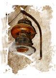 Lanterna antiga ilustração stock