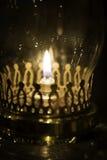 Lanterna antiquata dell'olio Immagini Stock Libere da Diritti