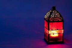 Lanterna ardente Imagens de Stock