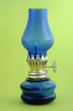Lanterna azul Fotos de Stock Royalty Free