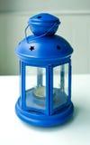Lanterna azul Fotografia de Stock Royalty Free