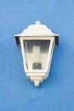 Lanterna bianca elettrica Fotografie Stock