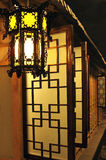 Lanterna chinesa do palácio. Imagem de Stock