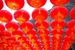 Lanterna chinesa vermelha fotografia de stock
