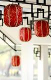 Lanterna cinese di arte Fotografia Stock Libera da Diritti