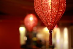 Lanterna cinese moderna Fotografia Stock Libera da Diritti