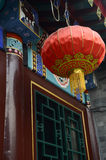 Lanterna cinese rossa Immagine Stock