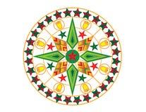 Lanterna colorida do Natal Imagens de Stock