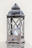 Lanterna con una candela Fotografia Stock Libera da Diritti