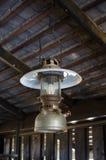 Lanterna d'annata dell'olio Fotografia Stock