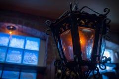 Lanterna d'annata della lampadina Fotografia Stock