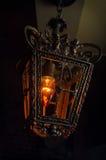 Lanterna d'annata della lampadina Immagine Stock Libera da Diritti