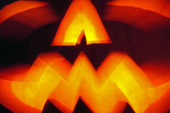 Lanterna da abóbora de Halloween Foto de Stock Royalty Free