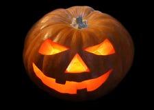 Lanterna da abóbora para Halloween Imagens de Stock Royalty Free