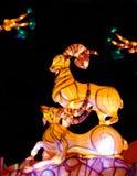 Lanterna da cabra na celebração 2015 lunar do ano novo Fotos de Stock Royalty Free