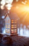 Lanterna da casa imagens de stock royalty free