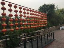 Lanterna da rua de CHINA foto de stock